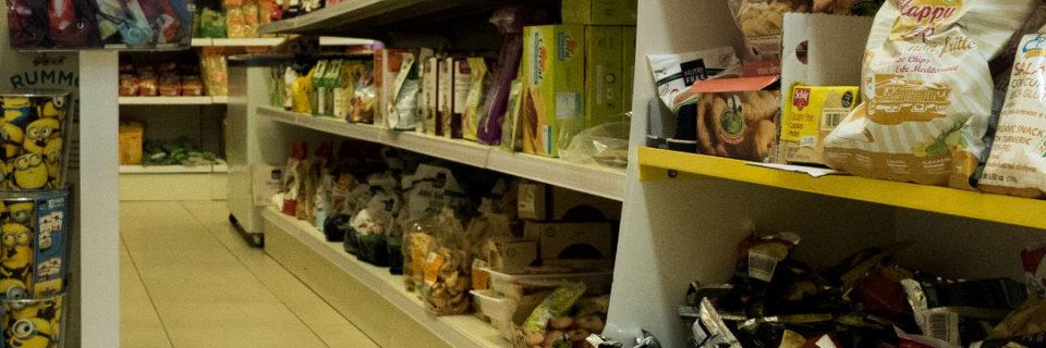 150 mq con tutti i tipi di prodotti gluten free